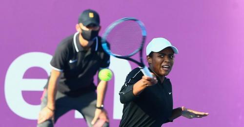 Qatar's Mubaraka Al Naimi Exits Qatar Total Open 2021