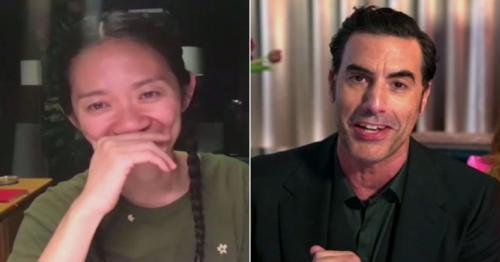 Golden Globe Awards 2021 - Nomadland and Borat win top awards