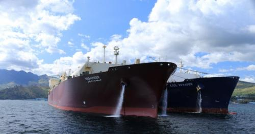 Qatargas-chartered LNG vessel makes first call at Ennore terminal in India
