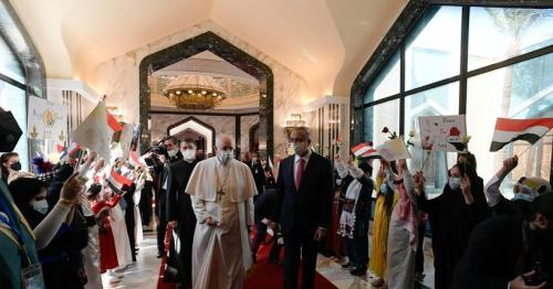 Pope Francis embarks on risky, historic Iraq tour
