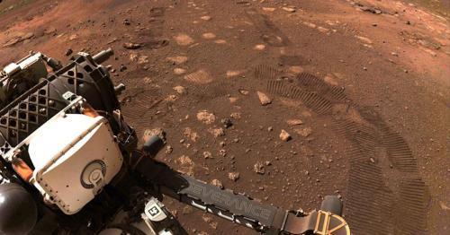 Nasa's Perseverance rover begins its exploration of Mars