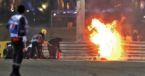 Romain Grosjean suffered 67G in fiery Bahrain GP crash - report