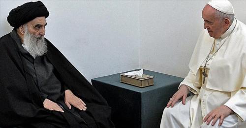 Pope Francis meets top Iraq Shiite cleric Sistani in interfaith milestone