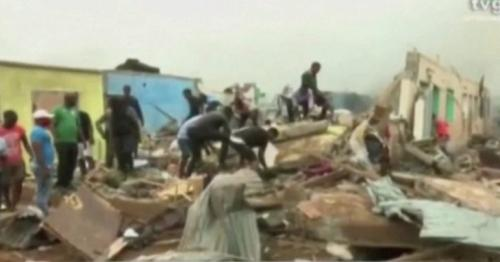 Huge explosions rock Equatorial Guinea's main city
