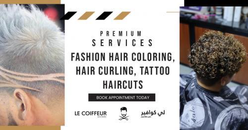 Best Tattoo, Haircut and Fashion Hair Coloring in Qatar