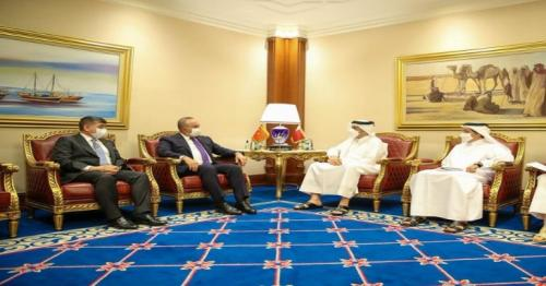 Deputy Prime Minister and Minister of Foreign Affairs Meets Turkish Minister of Foreign Affairs