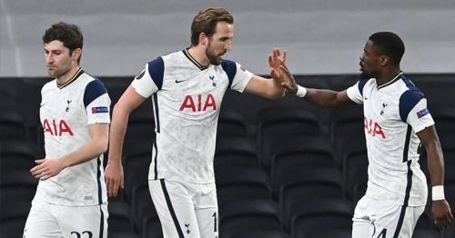 Tottenham 2-0 Dinamo Zagreb: Harry Kane double helps Spurs take control of Europa League last 16 tie