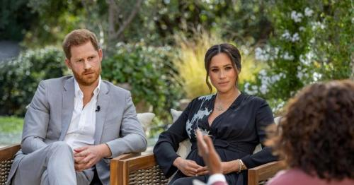 Popularity of Harry and Meghan plummets in UK after Oprah interview, poll says
