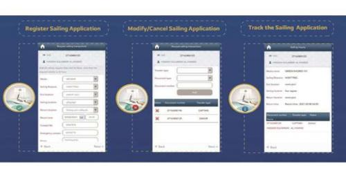 Sailing Application services via Metrash2 portal commenced by Coasts and Boards Security Department