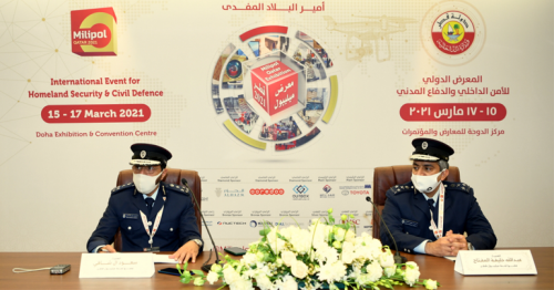 Ministry of Interior Signs Three Deals at Milipol Qatar 2021