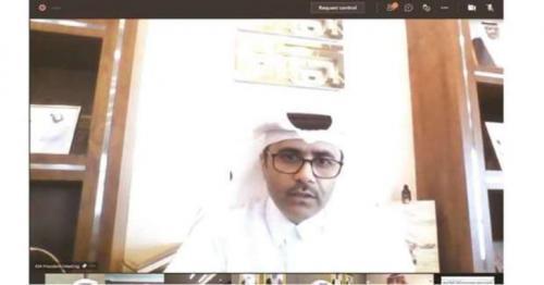 Kahramaa organises a virtual review meeting