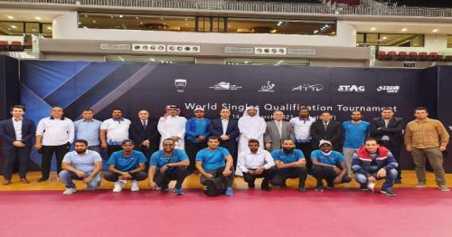 TT players Secure Tokyo 2020 Spots in Doha -1-