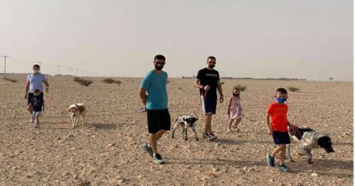 Bosnian citizens in Qatar rescued animals at QAWS