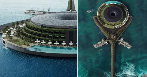 Qatar plans to construct a floating eco-hotel