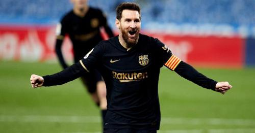Lionel Messi breaks Barcelona appearance record