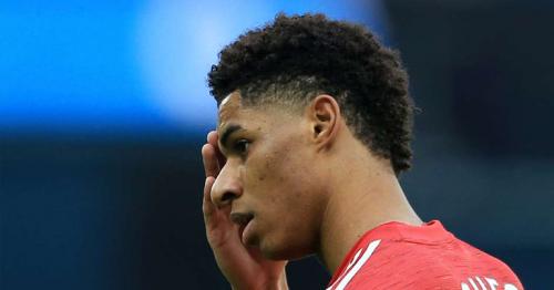 Marcus Rashford: Manchester United striker joins England squad despite foot injury