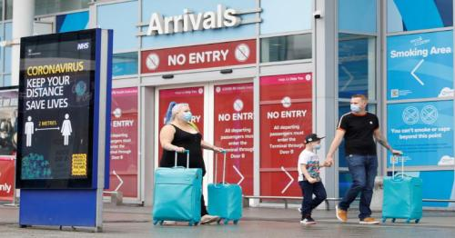 Covid - £5,000 fine for people going on holiday abroad
