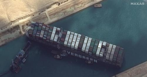 Syria says rationing fuel as shipments delayed by Suez canal blockage