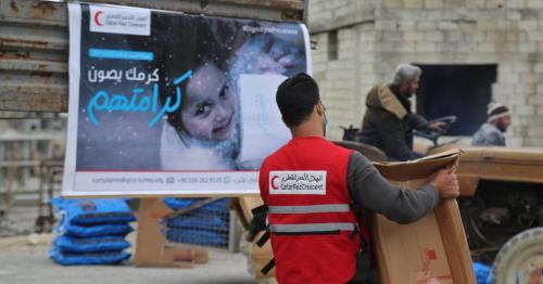 QRCS Secures Winterization Needs of Syrian Refugees, IDPs