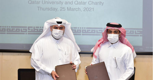 QU, Qatar Charity Sign MoU for Cooperation in Areas of Development, Humanitarian Work