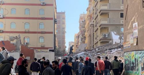 Death toll from Egypt building collapse climbs to 25