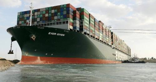 Suez canal - Ever Given container ship freed from shoreline