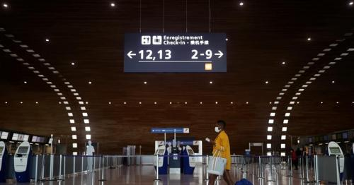 Eerily silent Paris CDG marks Easter without air travel rush