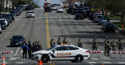 One officer and suspect dead in U.S. Capitol attack - police