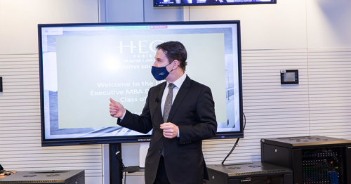 HEC Paris' International Executive MBA program welcomes another strong new cohort