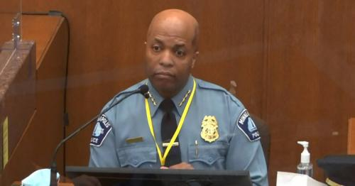 George Floyd - Minneapolis police chief says Chauvin violated policy