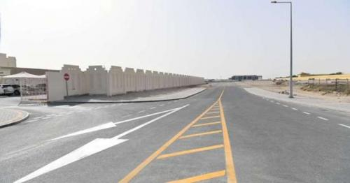 Ashghal Announces its Completion of Road and Infrastructure works around Abu Nakhla Petrol Station