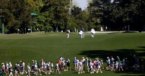 Natural order restored as spectators return to Augusta National