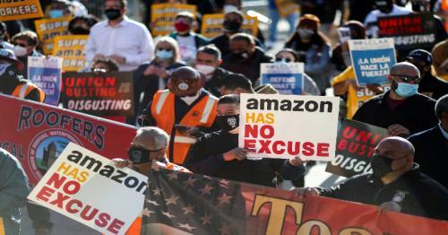 Amazon illegally retaliated against climate activists