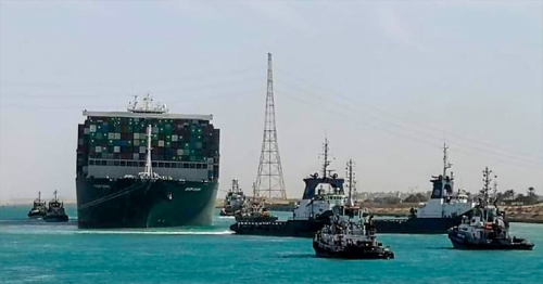First ships from Suez Canal backlog to arrive in Singapore this week