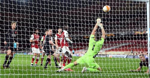 Holes earns Slavia Prague precious draw at Arsenal