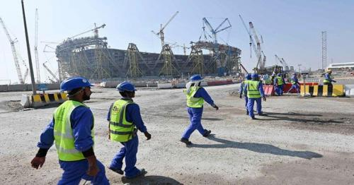 Qatar official says report claiming 6500 employees who died while working on stadium infrastructure is false