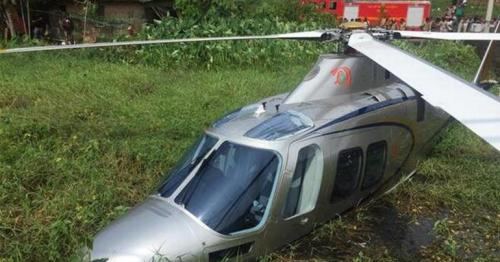 Chopper carrying Lulu Group chairman Yusuf Ali crash-lands in Kerala