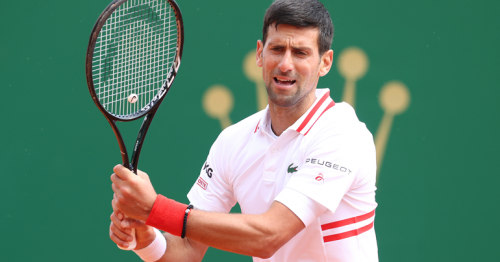 Djokovic knocked out of Monte Carlo by Evans in last 16