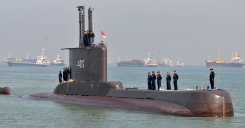 Indonesia says has not detected further signs of missing submarine