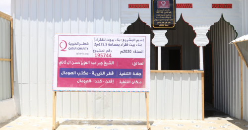 Qatar Charity Enhances Food Security in Somali Displaced Persons Camps during Ramadan