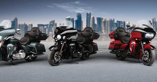 Harley-Davidson-Qatar launched eight new 2021 motorcycles range in Qatar