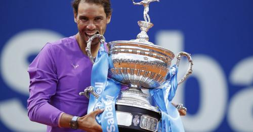 Nadal outlasts Tsitsipas to claim 12th Barcelona Open title