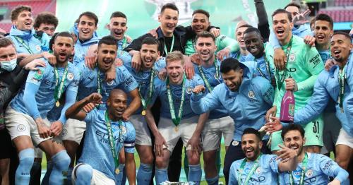 Man City win record-equalling fourth straight League Cup