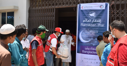 QRCS Distributes Food Parcels to 42,516 Vulnerable People in Bangladesh