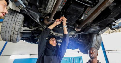 Female car repair shop owner blazes a trail in UAE