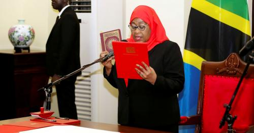 Tanzania's new president plans income tax cut, other economic changes