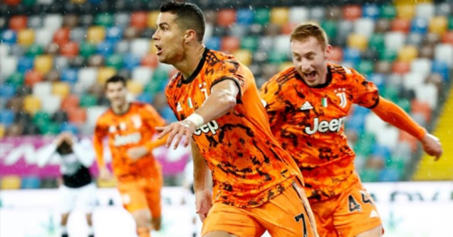 Ronaldo saves Juventus blushes as late double downs Udinese