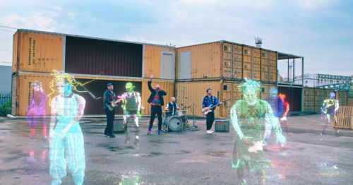 Coldplay beam up new single