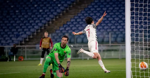 Man United into Europa League final despite defeat in Rome