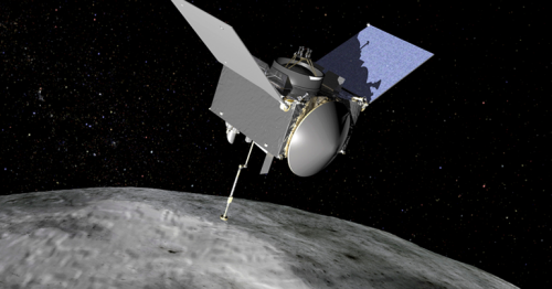 NASA spacecraft starts trip back to Earth after collecting asteroid samples